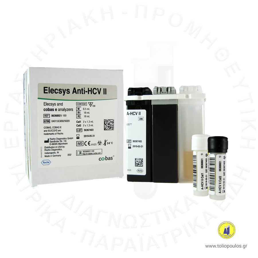 ANTI HCV II 100T ELECSYS e 411 ROCHE ΤΟΛΙΟΠΟΥΛΟΣ ΔΙΑΓΝΩΣΤΙΚΑ