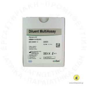 DILUENT MULTIASSAY 2x16ml ELECSYS e 411 ROCHETOLIOPOULOS