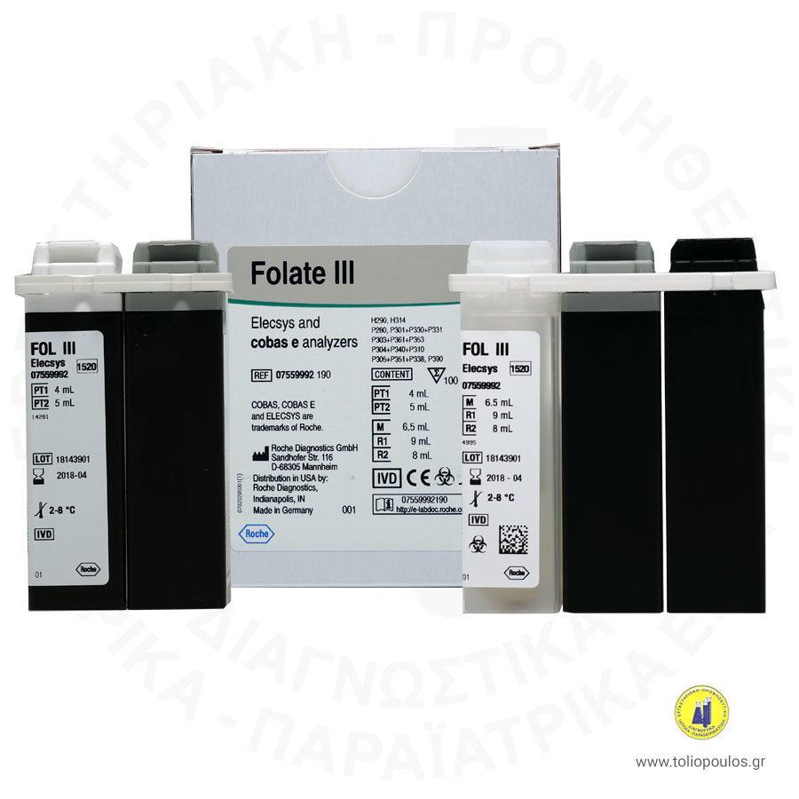 Αντιδραστήριο Folate III Roche Elecsys