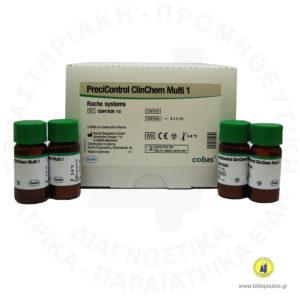 Precicontrol Clinchem Multi 1 Roche
