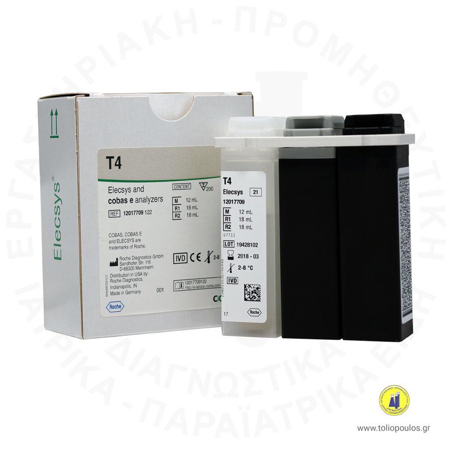T4 ELECSYS/e 411 200T ROCHE