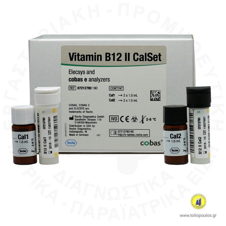 Calset Vitamin B12 Roche Elecsys