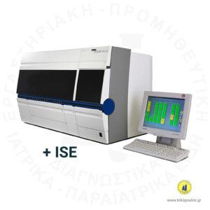 βιοχημικός αναλυτής cobas integra 400 plus & ise