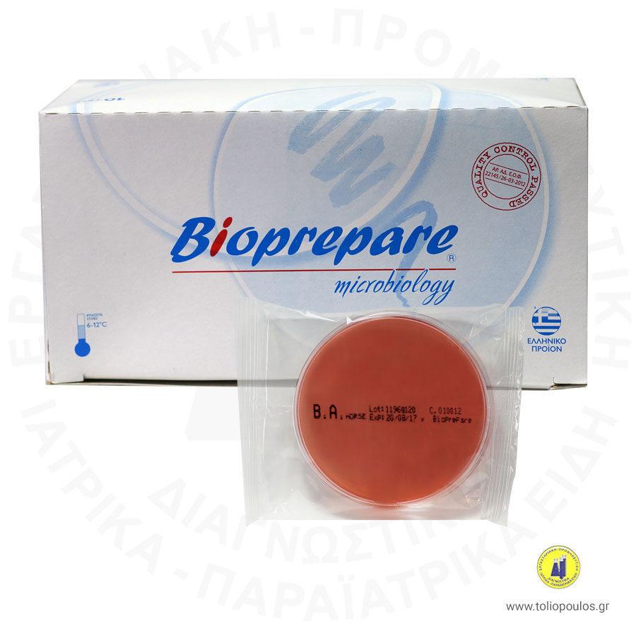 θρεπτικό υλικό blood agar