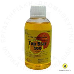 διάλυμα γλυκόζης 200ml 100gr orange top star