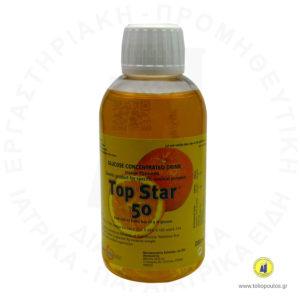 διάλυμα γλυκόζης 200ml 50gr orange top star