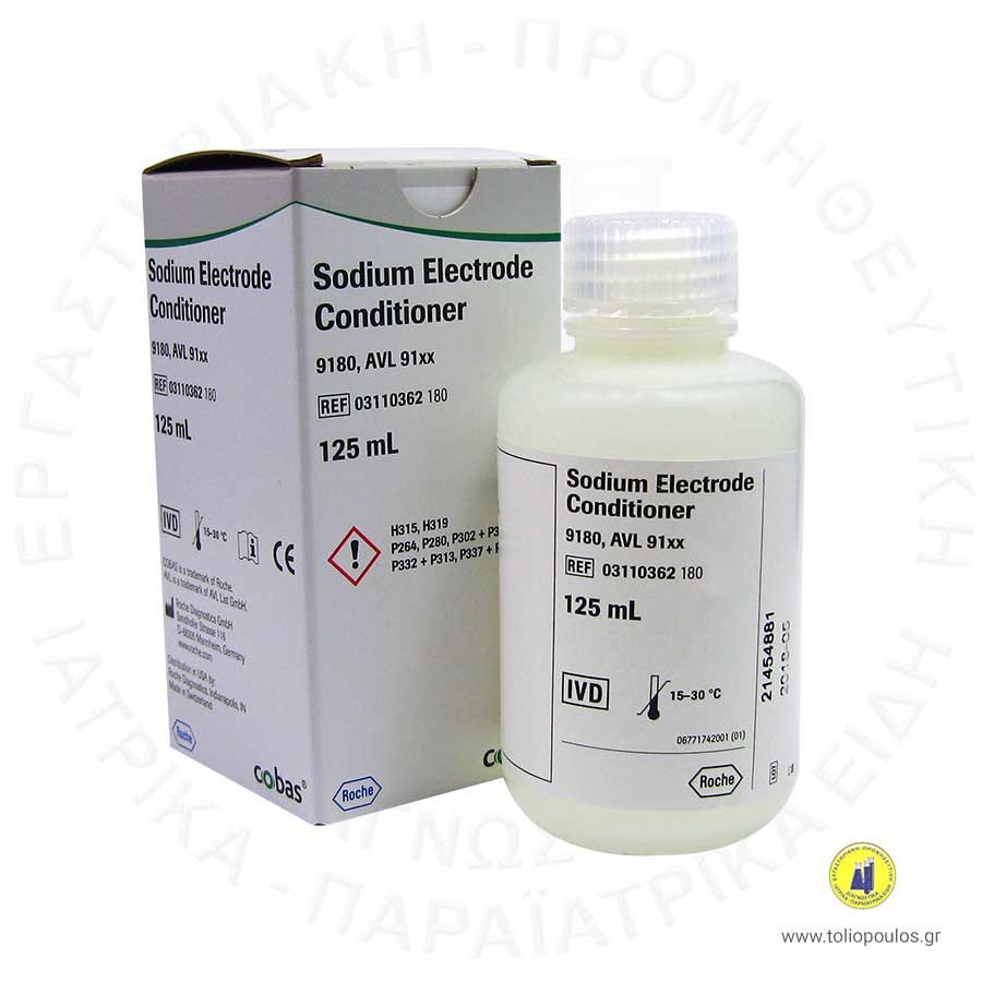 sodium electrode conditioner toliopoulos diagnostika