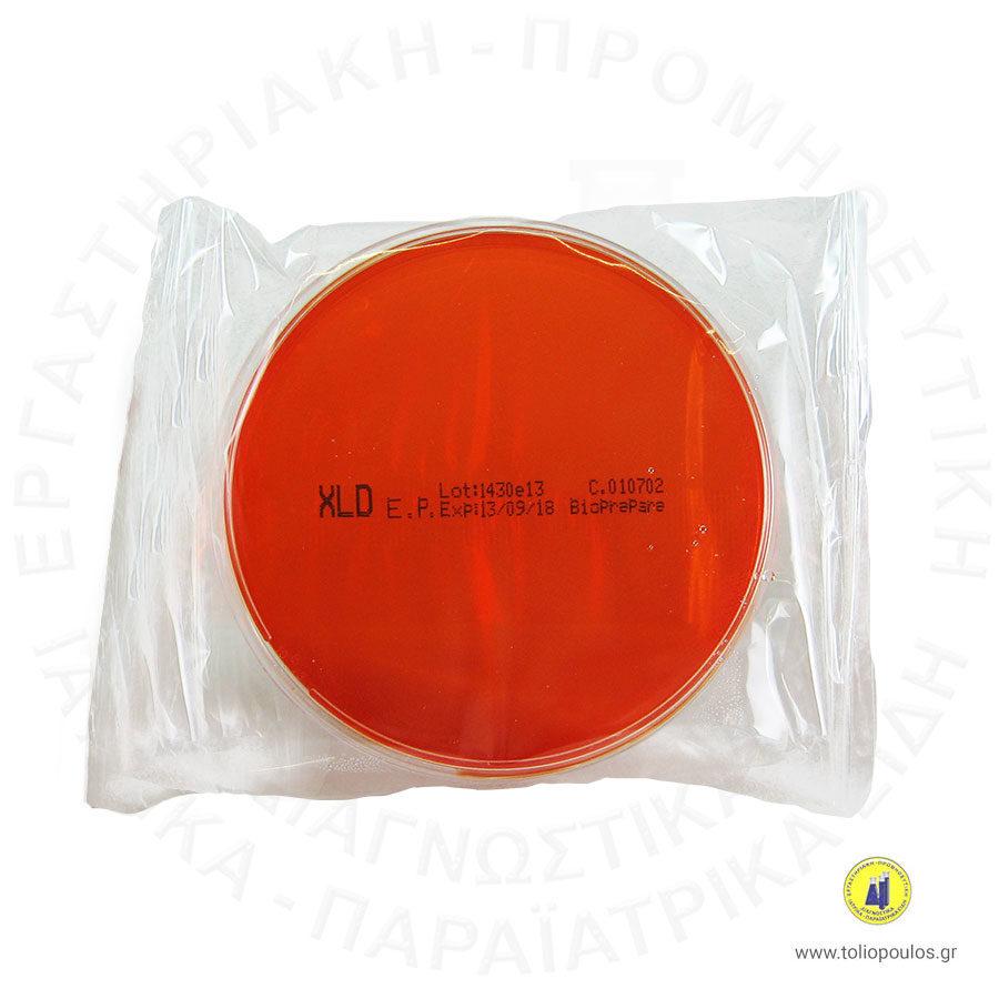 XLD-AGAR-ΤΡΥΒΛΙΑ-BIOPREPARE-Box-10-TOLIOPOULOS