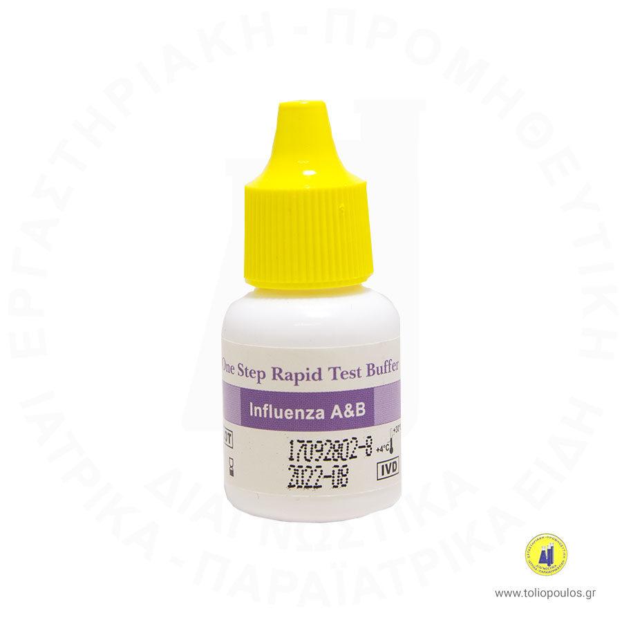 influenza A B 10T nasal dedicio τολιοπουλος διαγνωστικα